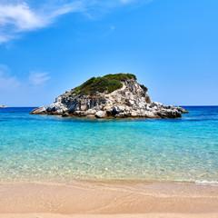 Beautiful beach landscape, Sithonia, Greece