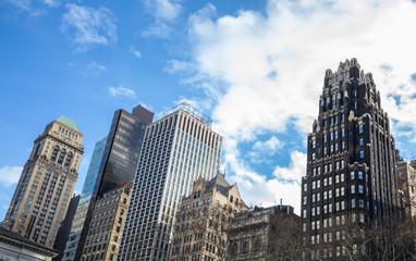 New york skyscrapers in Manhattan