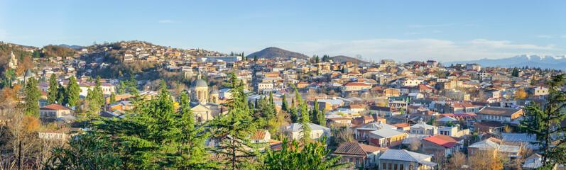 Panorama of Kutaisi, Georgia