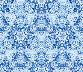 Seamless pattern, background. Five colors. Graphic design element.