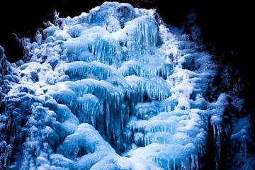 厳寒の氷爆