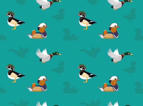 Bird Ducks Wallpaper
