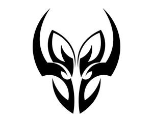 tribal ethnic tattoo icon vector illustration design