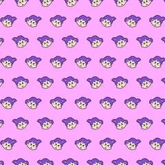 Little girl - emoji pattern 29