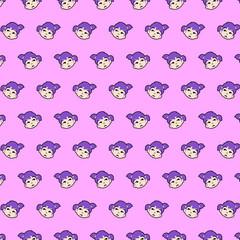 Little girl - emoji pattern 41