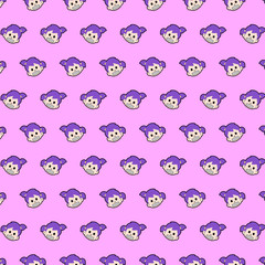 Little girl - emoji pattern 59