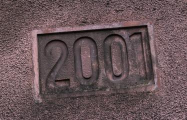 2001 Steingravur