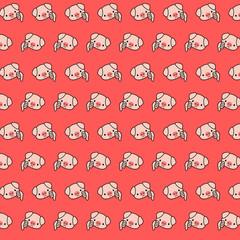 Piggy - emoji pattern 48