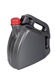 Plastic container motor oil can