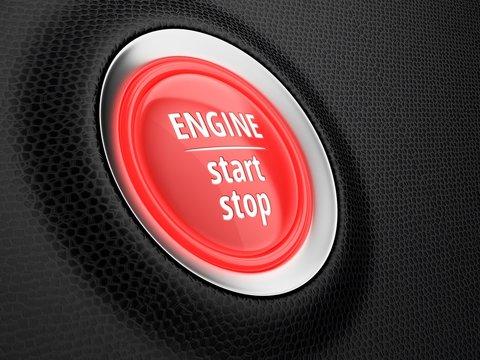 Stop-start engine technology, illustration