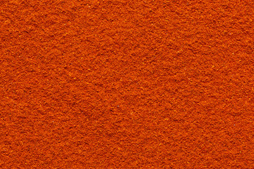 Wall Murals Spices Chili paprika powder ground full frame smooth surface