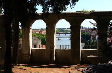 Italien, Verona, Teatro Romano