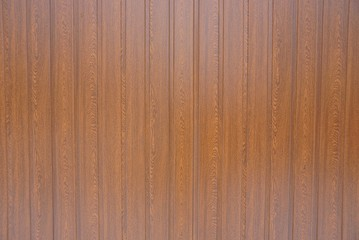 brown wooden planks background in the wall