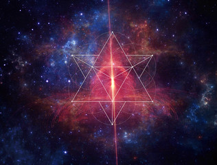 sacred space geometry