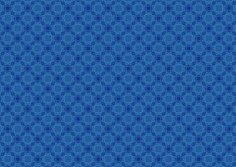 Abstract circles blue pattern background