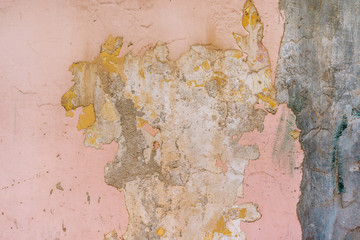 pink wall grunge background wallpeper