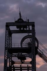 炭鉱の風景