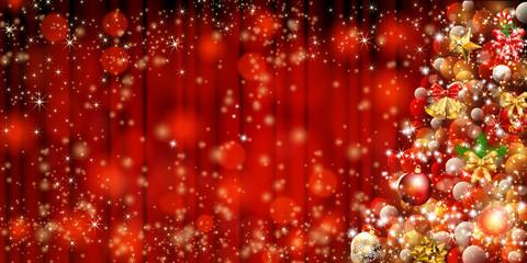 豪華なクリスマスツリー