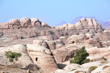 Cave house at to the Siq, Petra, Jordan