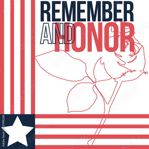 us memorial day poster vector illustration stock image and
