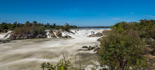 Laos - Nakasong - die 4000 Inseln - Khone Phapheng Wasserfall