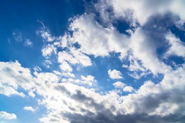 山中湖畔の雲
