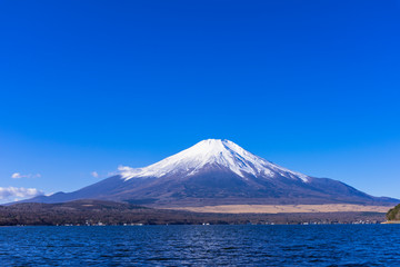 Wall Mural - 山中湖より富士山