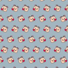 Snail - emoji pattern 14