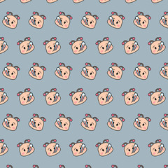Snail - emoji pattern 68