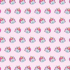 Unicorn - emoji pattern 27