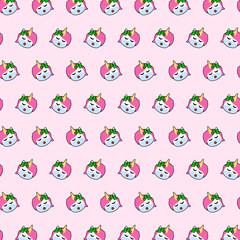 Unicorn - emoji pattern 35