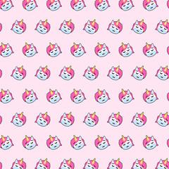 Unicorn - emoji pattern 43