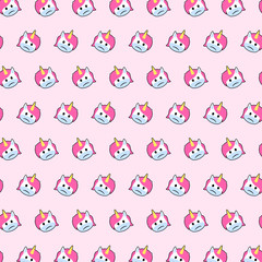 Unicorn - emoji pattern 44