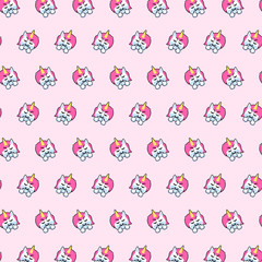 Unicorn - emoji pattern 53