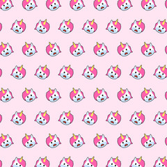 Unicorn - emoji pattern 56