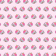 Unicorn - emoji pattern 65