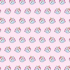 Unicorn - emoji pattern 69