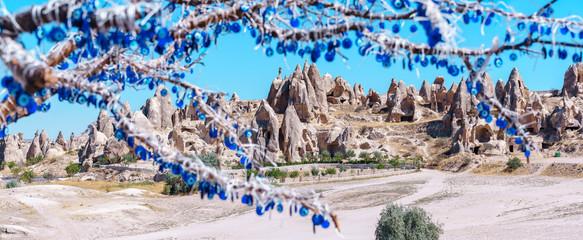 Photo sur Aluminium Valley in Cappadocia, Goreme, Turkey