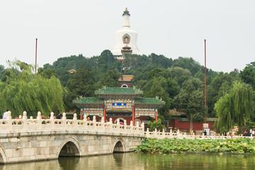 White Stupa Temple,  China, Beijing