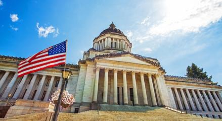 Washington State Capitol Olympics Seattle Washington USA
