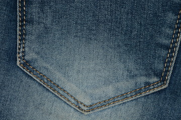 The texture of jeans.