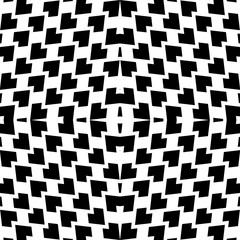 vector abstract tribal pattern background. Ethnic geometric stripes line with rhombus ornament illustration.