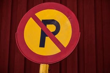 Parking forbidden