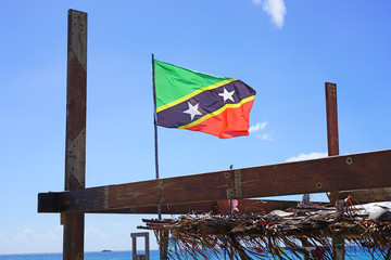 Flag of the Federation of St Kitts and Nevis