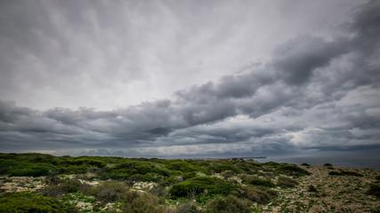 dramatischer Himmel - Portugal