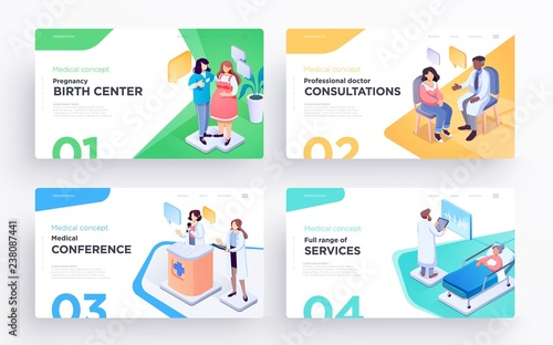 Doctor Consultation Banners Symbol Banners