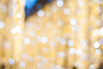 Christmas, New Year, holiday blurred background, bokeh, full colors.