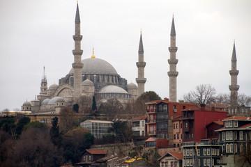 Istanbul, Turchia. Scorci della città.