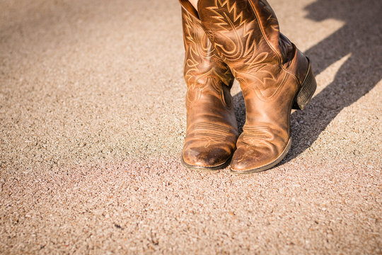 Cowboy Boots, Crossed