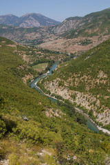 Road trip through Albania: along the shores of the river Drin
